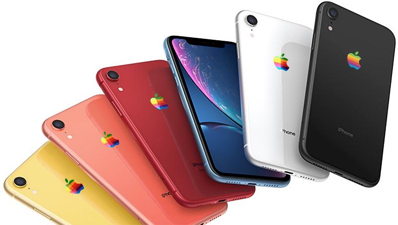 Appleのレインボーロゴ復活か。一部の新製品で年内にも