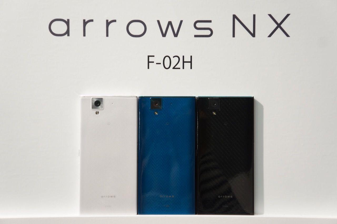 arrows NX F-02H / arrows Fit F-01H フォトレビュー MIL規格準拠のタフネススマホ