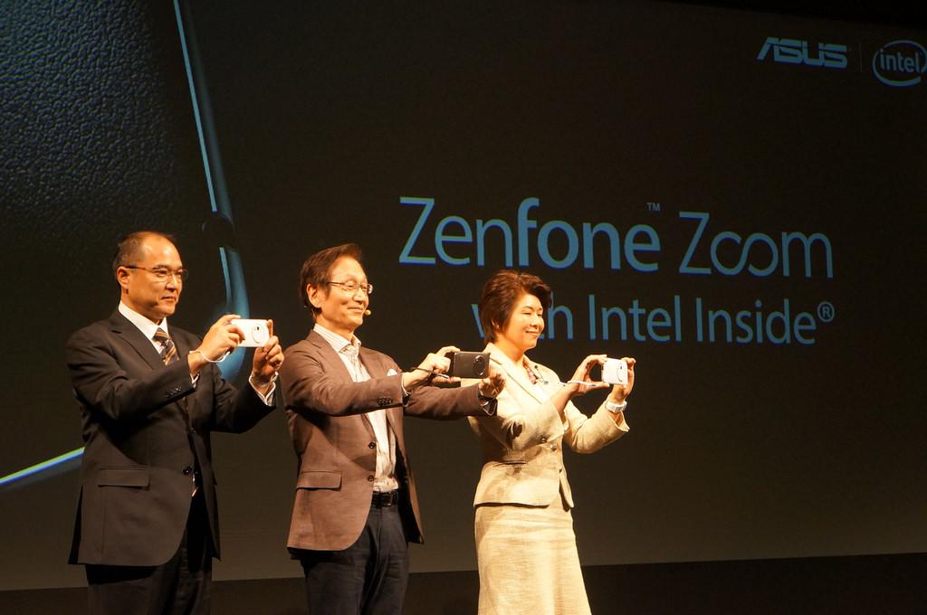 世界最薄、光学3倍ズームカメラ搭載スマホ「Zenfone Zoom」が2月5日発売、価格は49,800円から