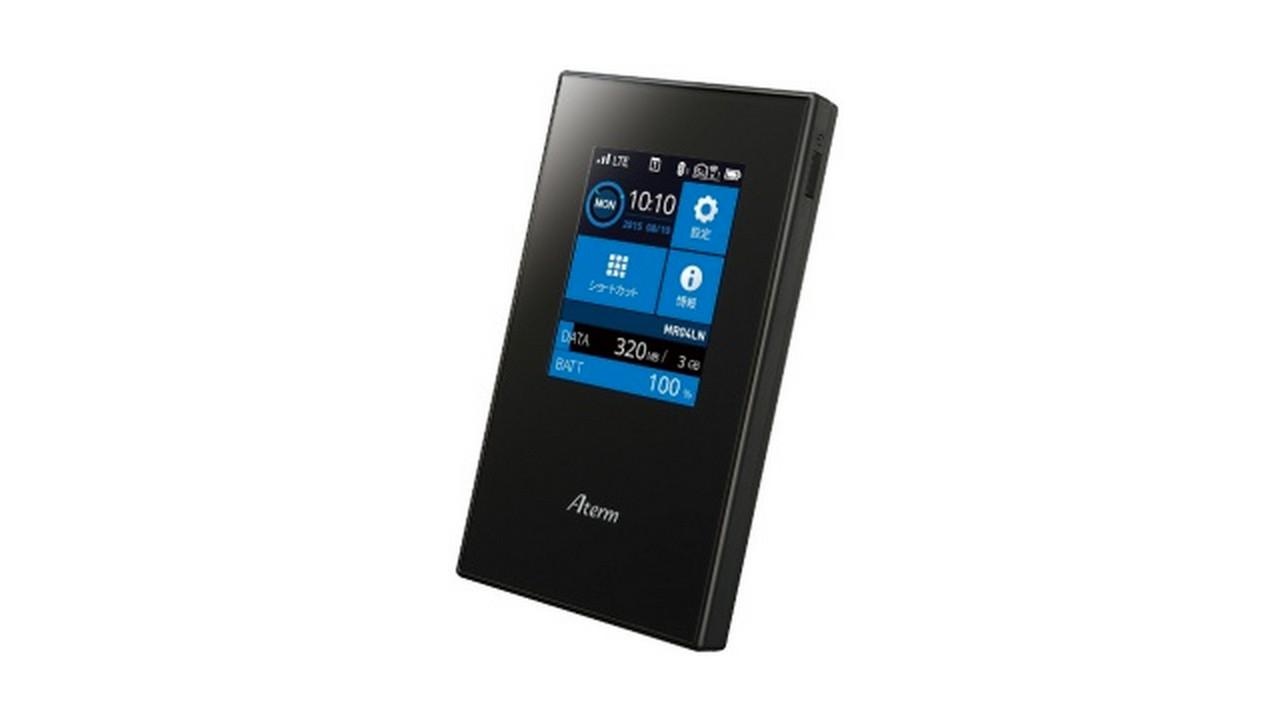 下り300Mbps / デュアルSIM対応、モバイルルーター「Aterm MR04LN」が販売開始