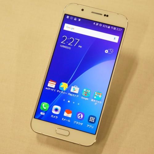 au、2015年冬モデル「Galaxy A8 SCV32」の価格は76,680円、実質43,416円に