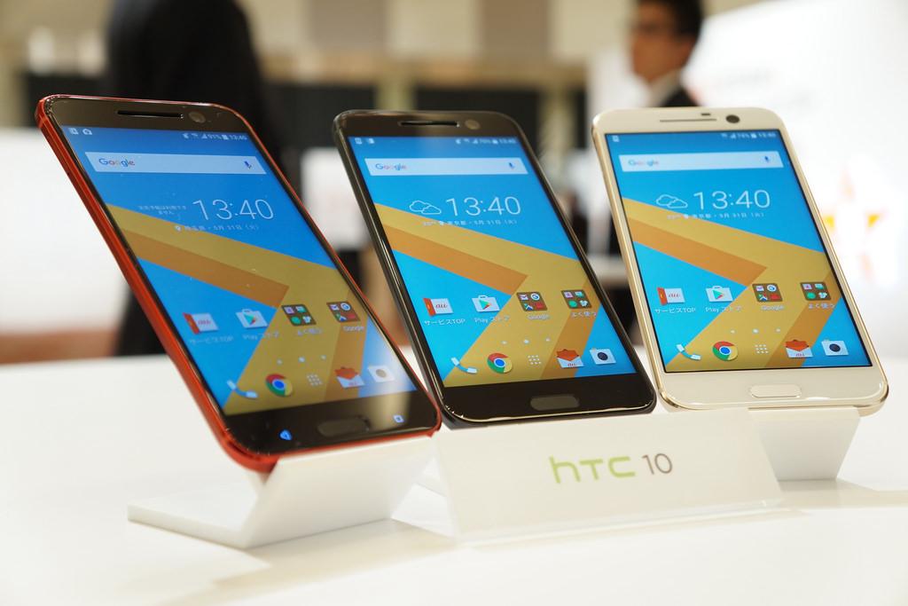 au、HTC 10の価格は実質45,576円に