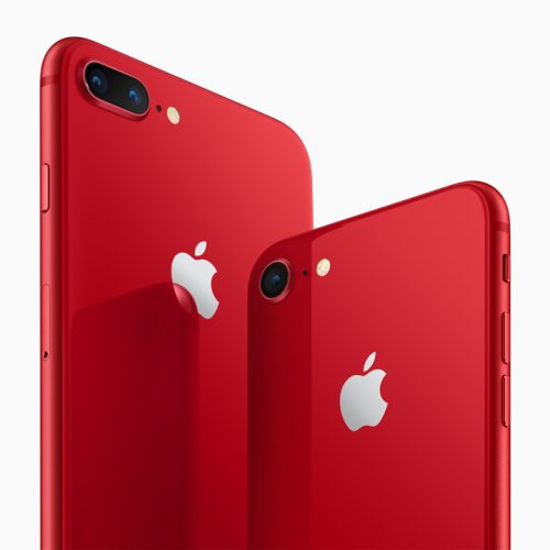 au、iPhone 8/iPhone 8 Plus (PRODUCT)REDを4月13日発売。きょうから注文開始