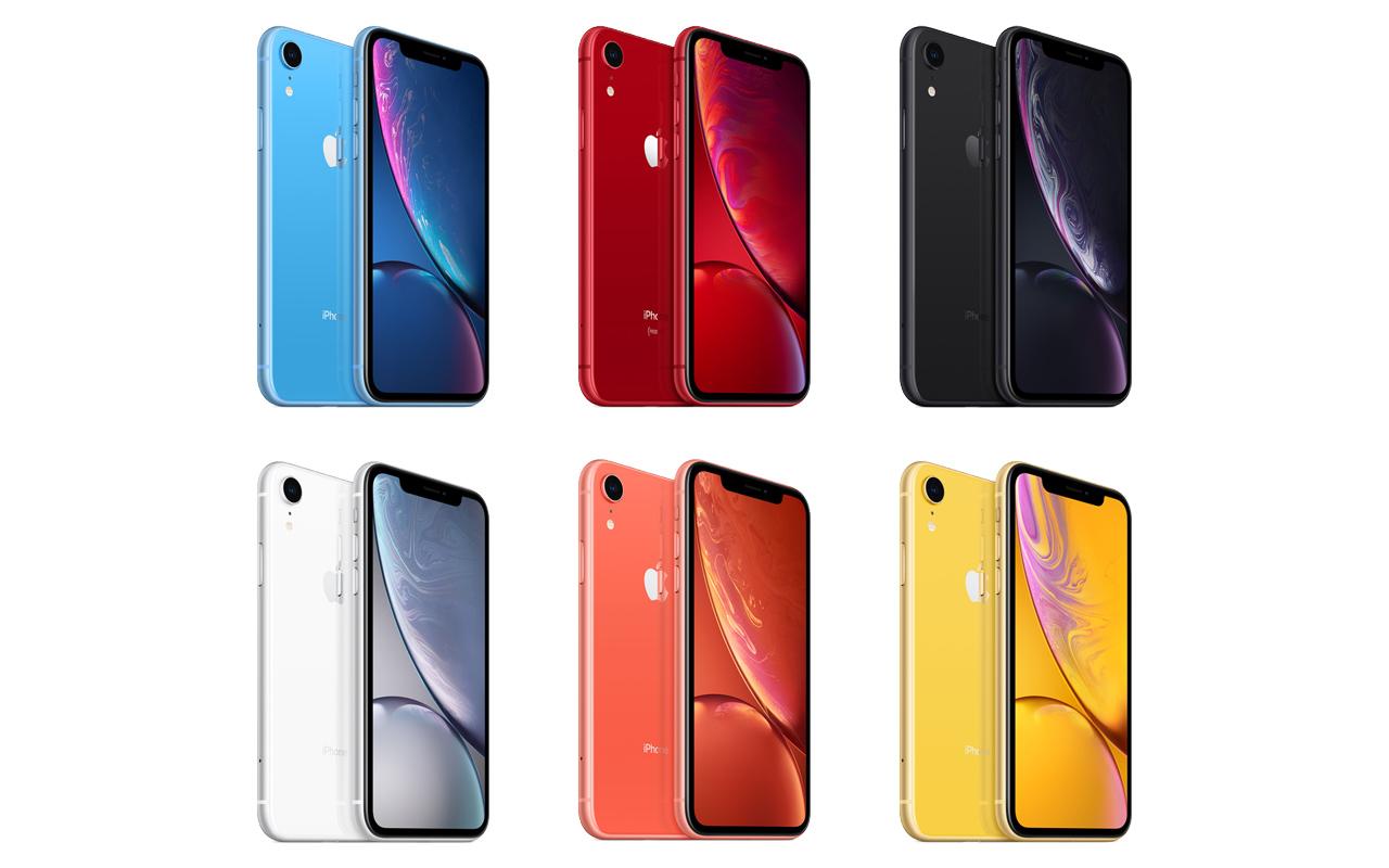 au、iPhone XRの価格を発表。64GBが98,400円から