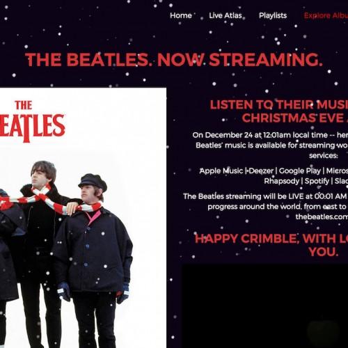 ビートルズが聴き放題に、Google MusicやApple Musicでクリスマスイブに楽曲配信スタート