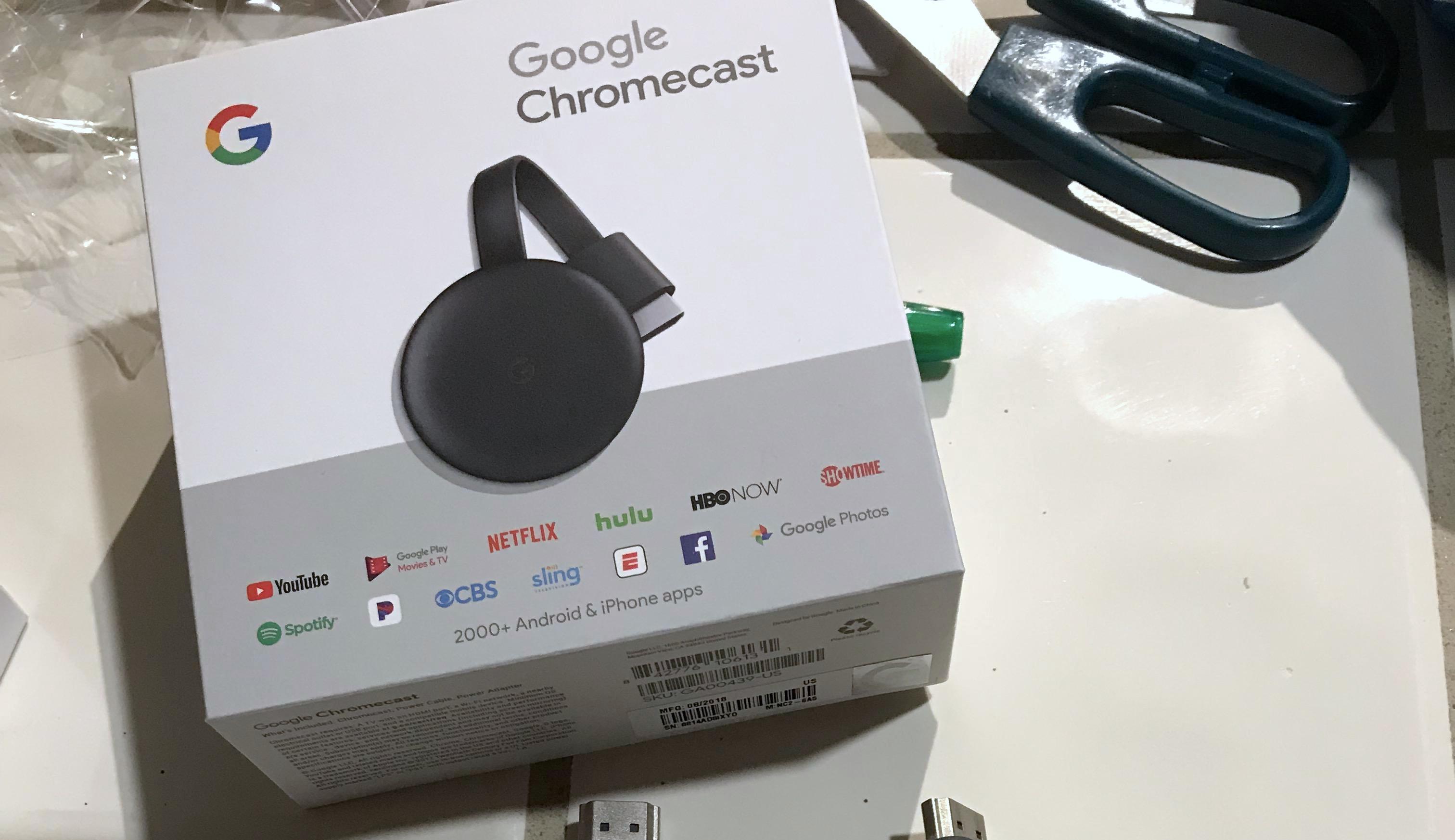 未発表の新型Chromecast、米量販店で誤って販売されてしまう
