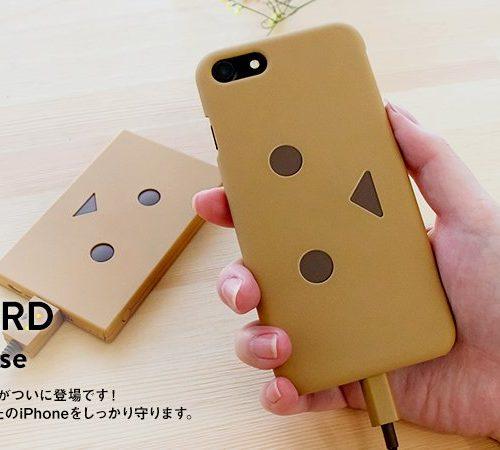 500個限定980円、ダンボーケース「cheero Danboard Case for iPhone 7」が発売