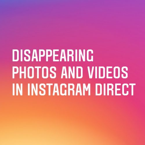 インスタグラム、新機能「消える写真と動画」が登場〜スクショ保存がバレる機能搭載