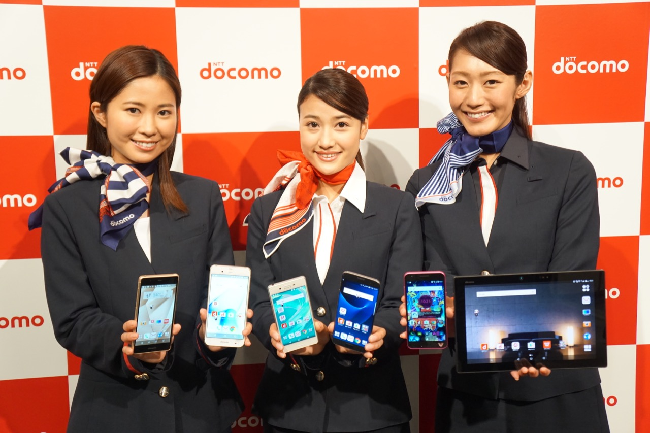 ドコモ、2016年夏モデルを発表。Xperia X / Galaxy S7など5月19日から発売
