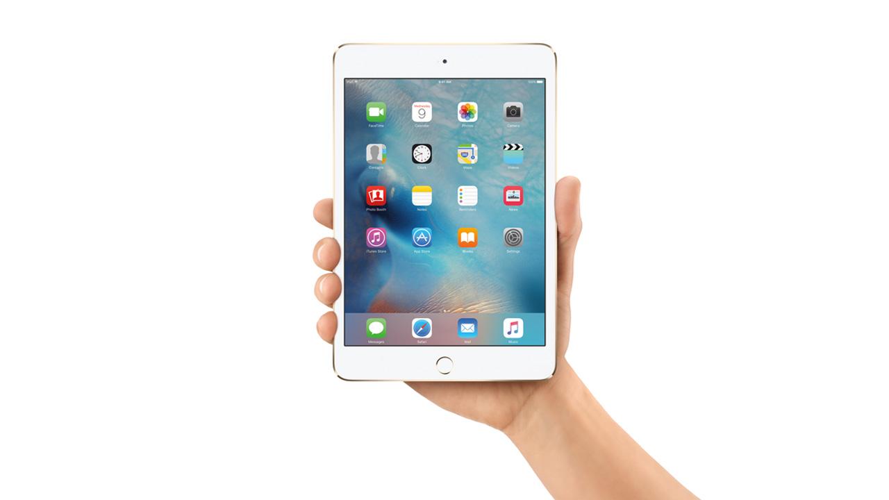 ドコモ、「iPad mini 4」を一括0円で販売中