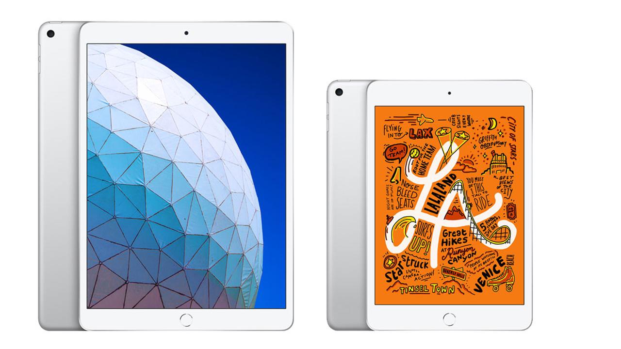 au、新しい「iPad mini」と「iPad Air」の予約受付をあす開始。発売日は3月下旬に