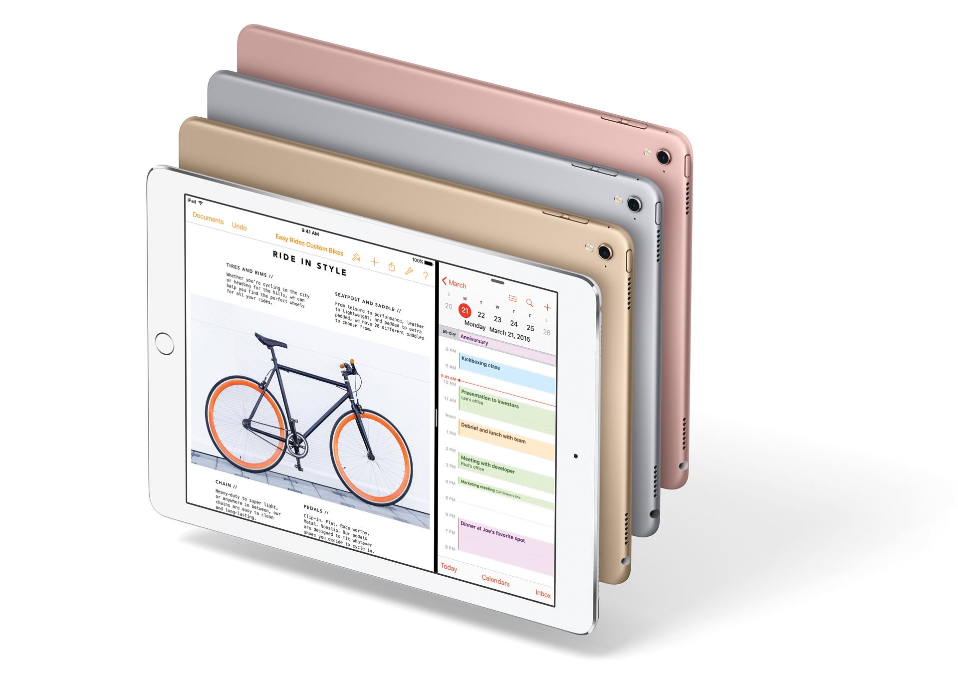 ドコモ、9.7インチ「iPad Pro」を発売。24日16時1分より予約受付スタート