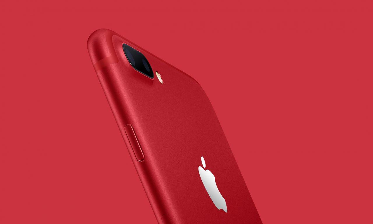 ドコモとau、iPhone 7 (PRODUCT) RED Special Editionを3月25日午前10時から発売