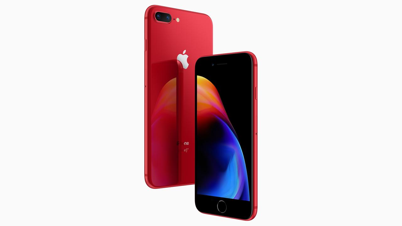 ドコモ、iPhone 8/iPhone 8 Plus (PRODUCT)REDを4月14日発売。明日から注文開始