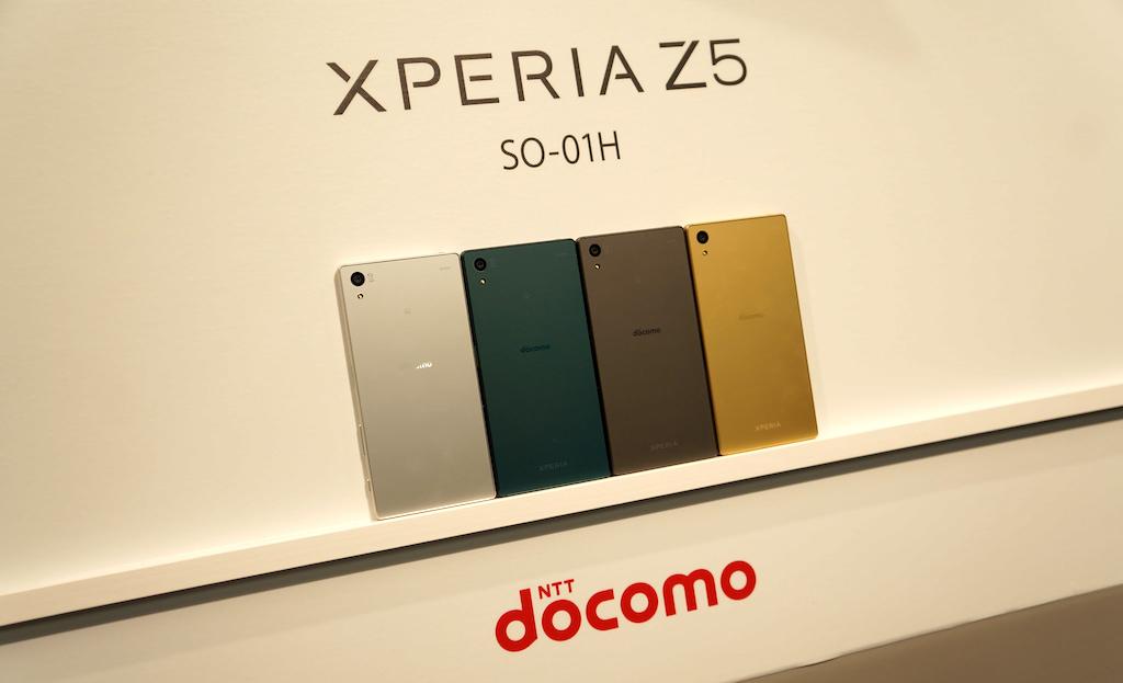 ドコモ、「Xperia Z5 SO-01H」を10月29日より発売――価格は93,312円、実質0円から