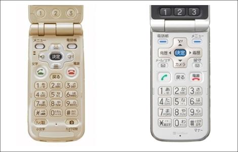 NTTドコモとソフトバンク、「かんたん携帯 821T」で和解。