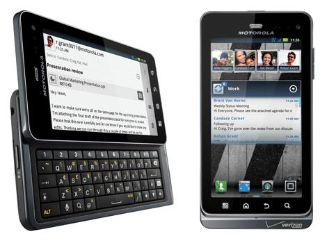 Motorola、「Droid 3」を発表!ベライゾンから発売開始!