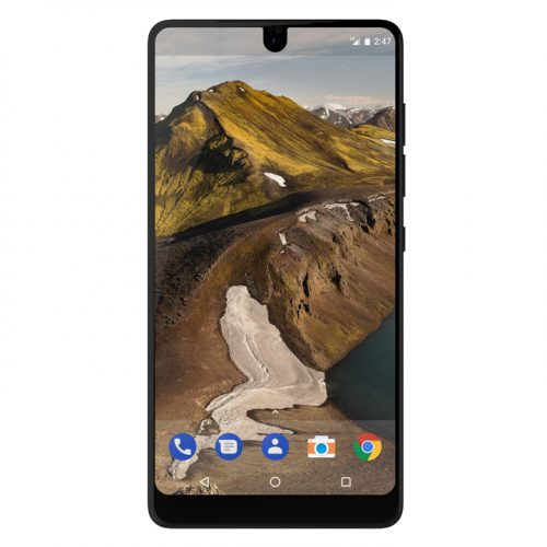 Androidの父が「Essential Phone」を発表。19:10の縦長画面、ほぼベゼルレス