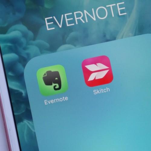 Evernote、画像編集アプリ「Skitch」の開発を一部終了。ユーザーからは非難の声