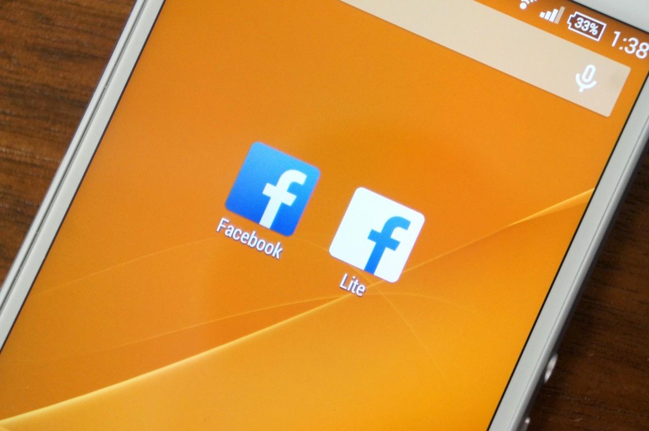 低性能なスマホ向けの公式アプリ「Facebook Lite」が登場――アプリの容量はたったの1MB