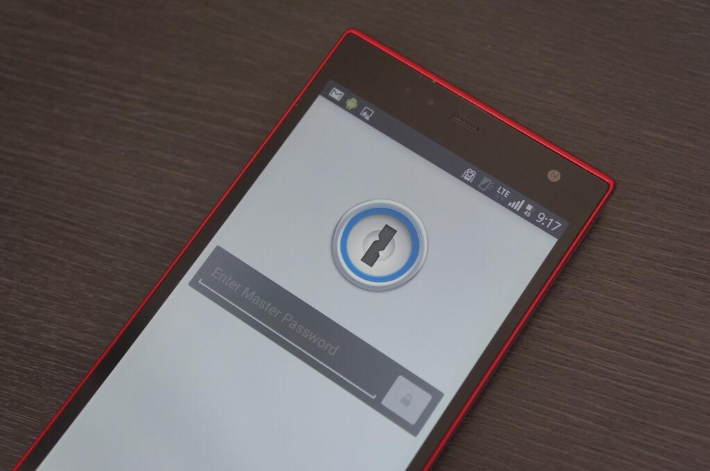 ついにきた!Android向け「1Password 4」が配信開始!しかも無料!