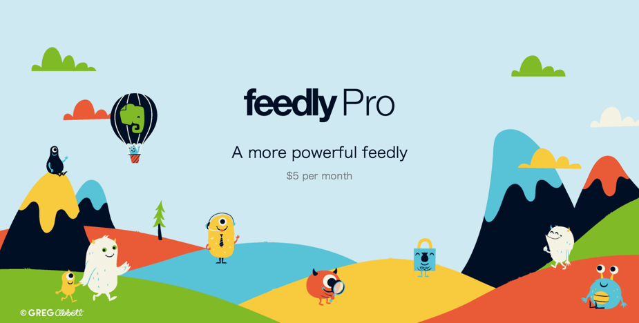 Feedlyが月額5ドルで有料プランを提供へ!モバイル向けにも今後提供予定!