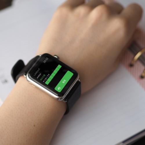 iPhoneの現在地をリアルタイムに確認、Apple Watchアプリ「Lookout」