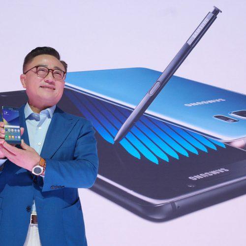 「Galaxy Note7」登場。5.7インチ/虹彩認証/防水で8月19日発売。日本発売は?