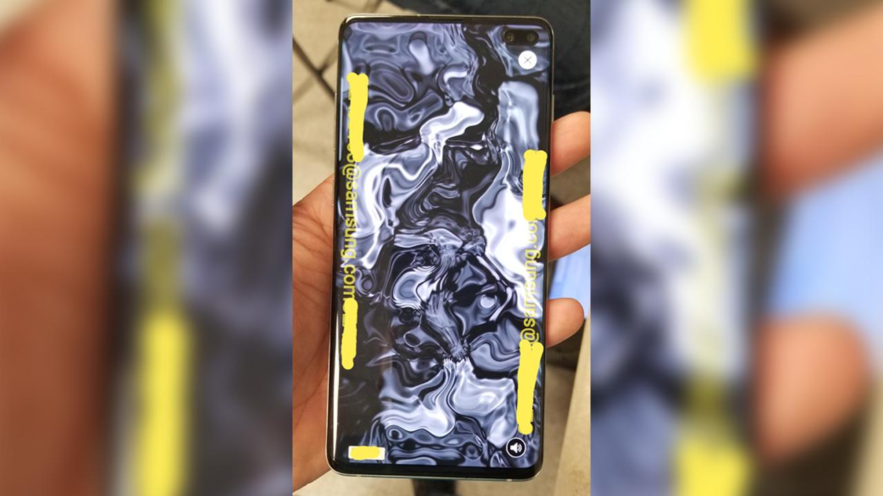 Galaxy S10+の実機とベンチマーク流出。1TBのストレージと12GBのメモリ搭載か