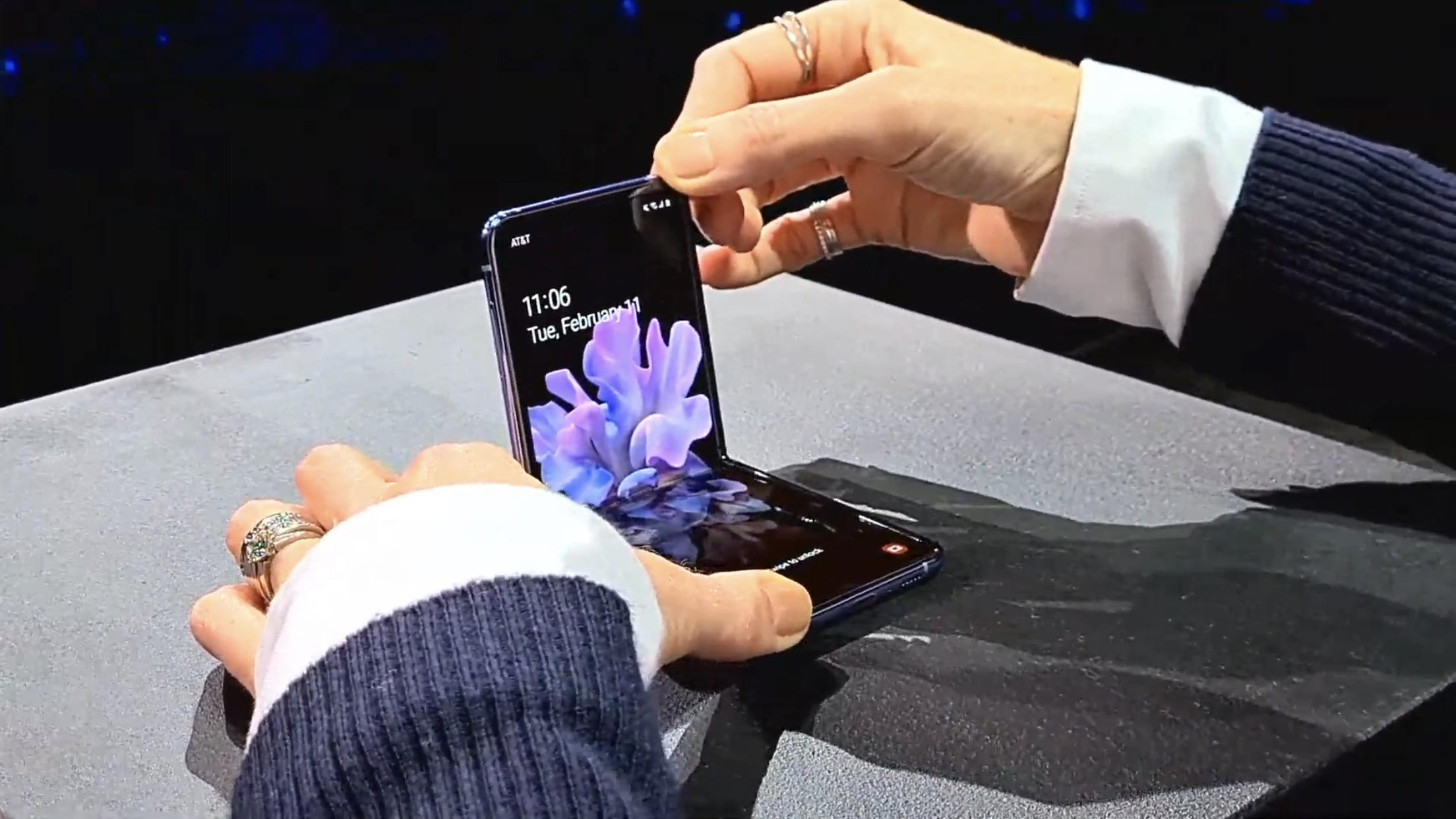 Galaxy Z Filp、日本発売日は2月下旬。auが独占販売