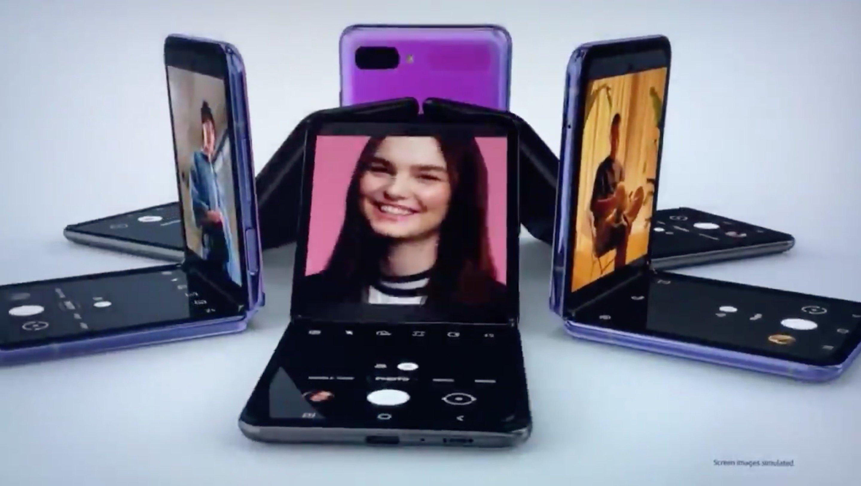 Galaxy Z Flip、発表直前でテレビCMが公開される