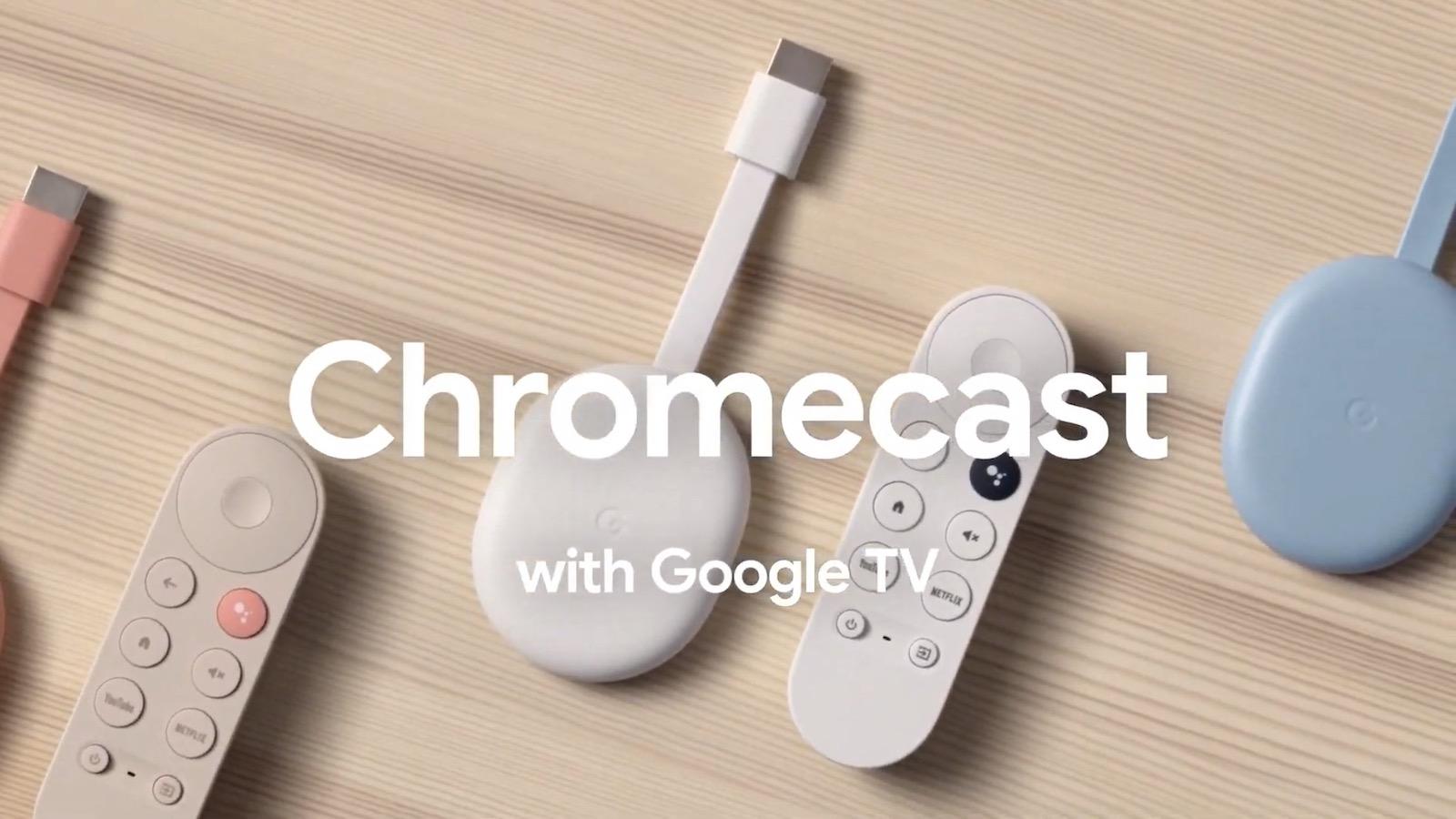 Apple TVアプリ、来年初頭にChromecast with Google TVに対応