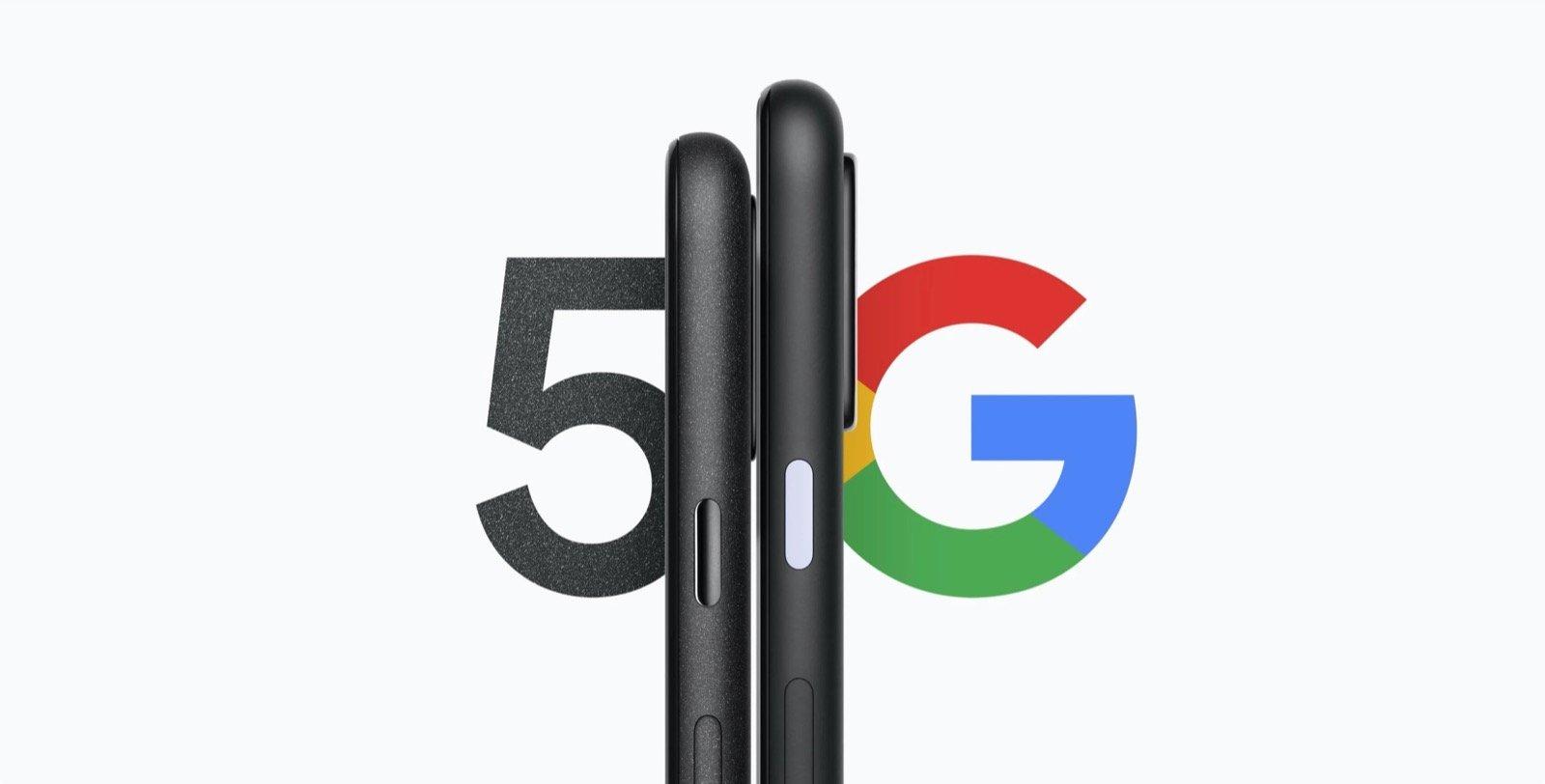 Pixel 5/Pixel 4a (5G)、ストレージ容量は128GBから?