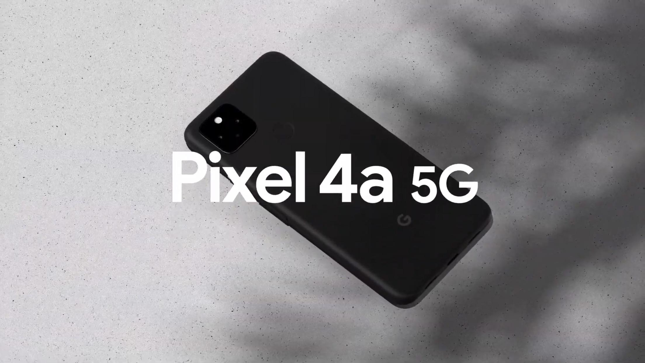速報:「Pixel 4a (5G)」登場。6万円で5G対応、2眼カメラ搭載
