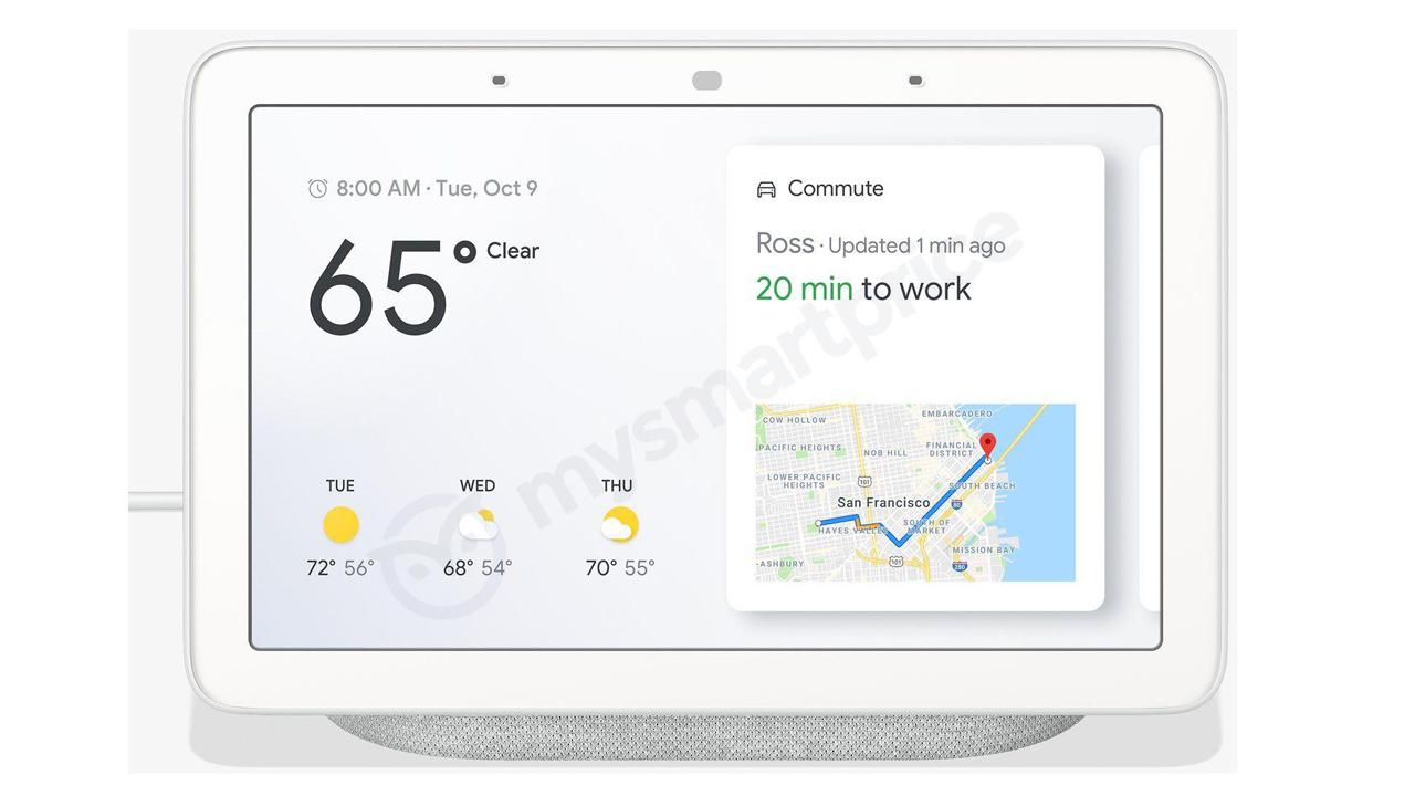 Google製スマートディスプレイ「Google Home Hub」が流出。価格は1.6万円?