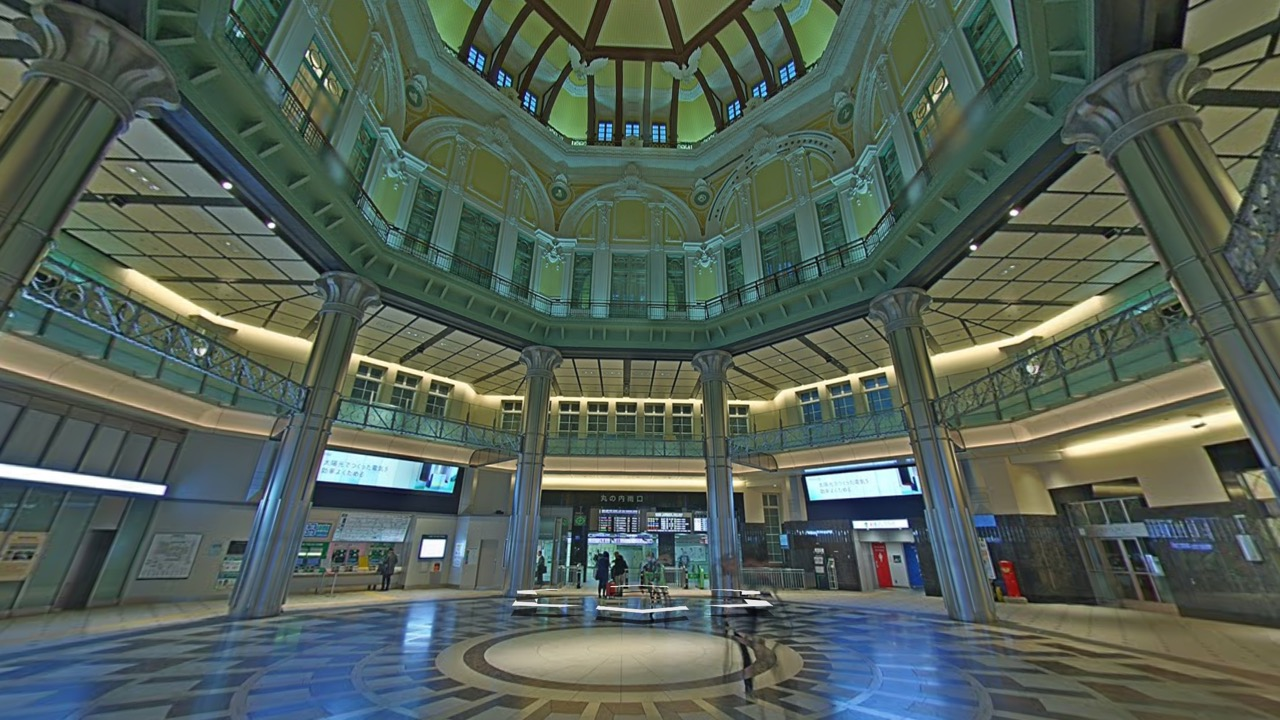 Google、東京駅や新宿駅など駅構内のストリートビューを公開