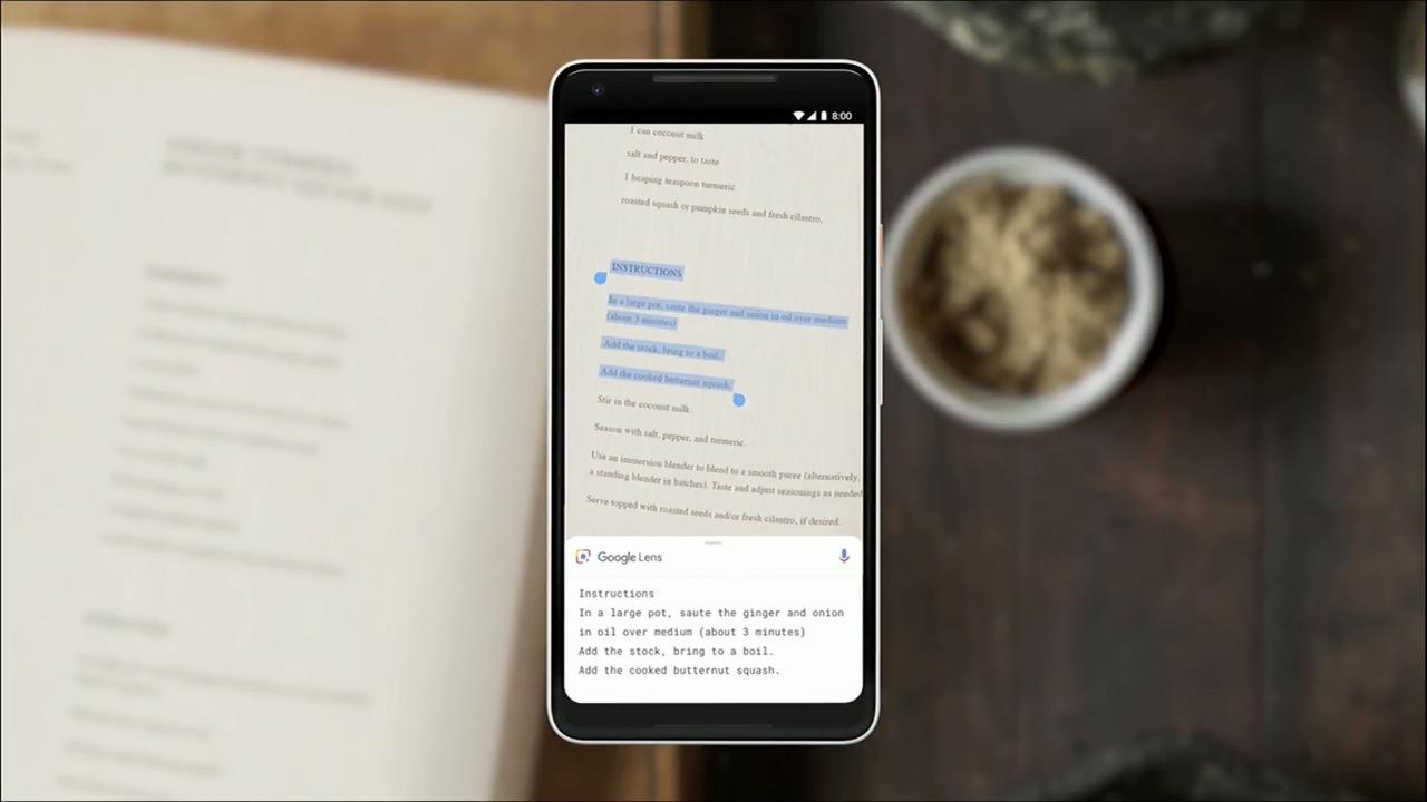 Google Lens、現実世界のテキストをスマホでコピペできる新機能を追加
