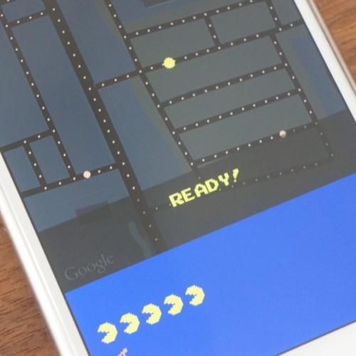 Googleマップアプリでパックマンがプレイ可能に――遊び方を解説