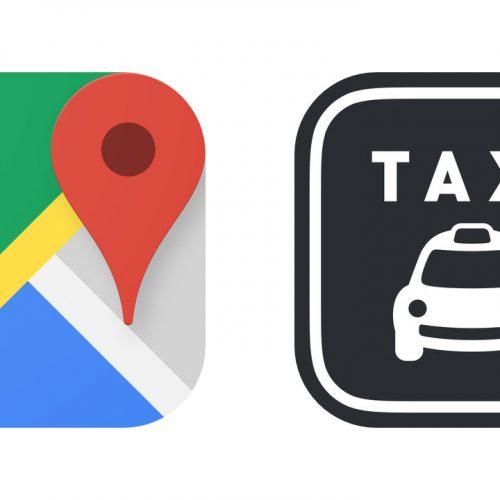 Googleマップアプリから「全国タクシー」で配車可能に。初回1500円クーポンも