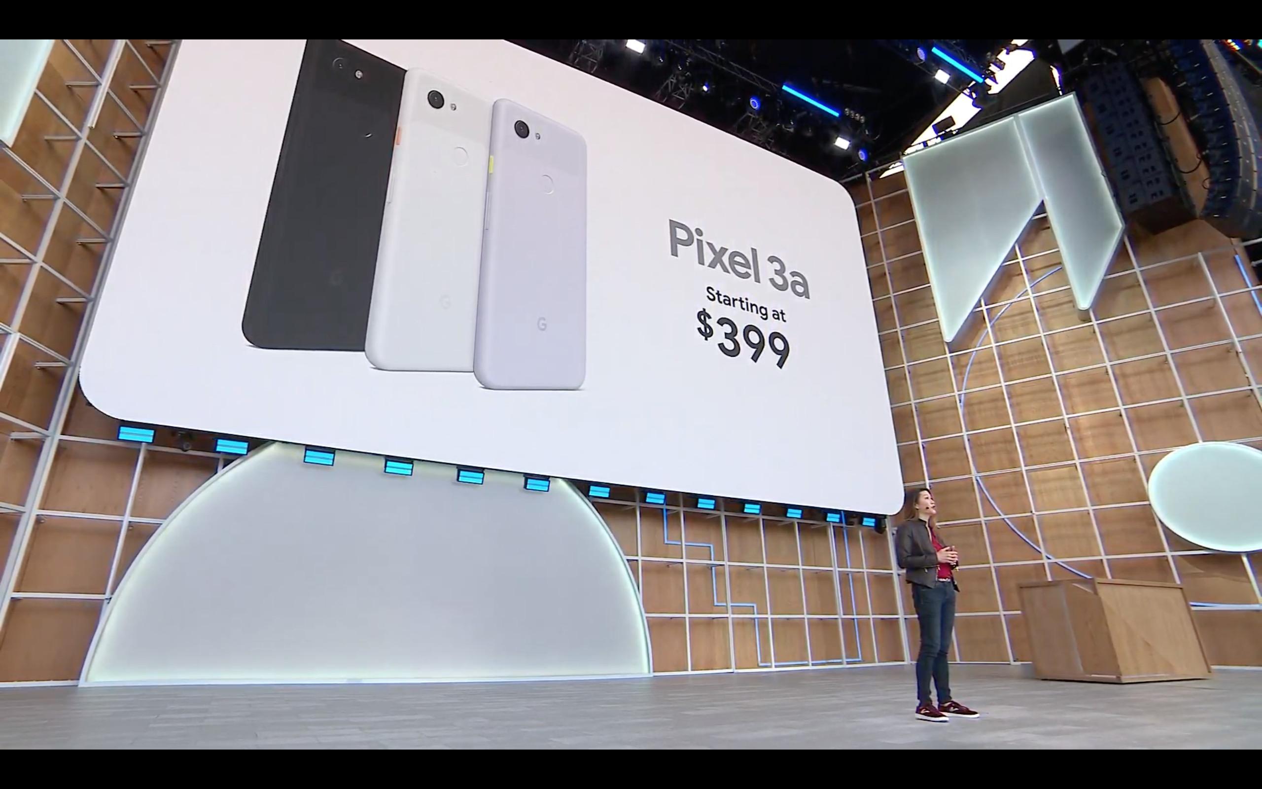 速報:Pixel 3a / 3a XLが発売。価格は4.8万円〜、FeliCa対応、イヤホン端子あり