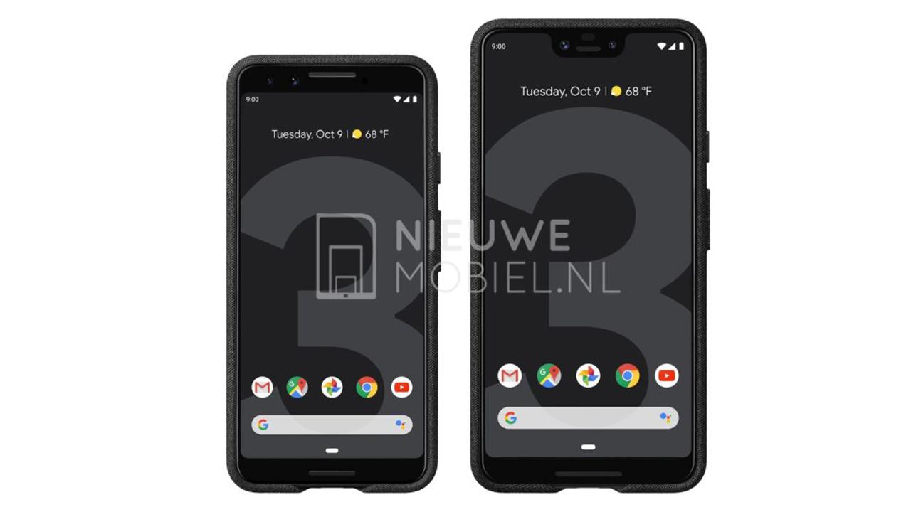 Google Pixel 3/Pixel 3 XL、公式のプレス画像がリークされる