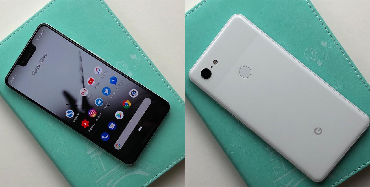 Google Pixel 3 XL、実機写真&カメラで撮影した写真が公開される