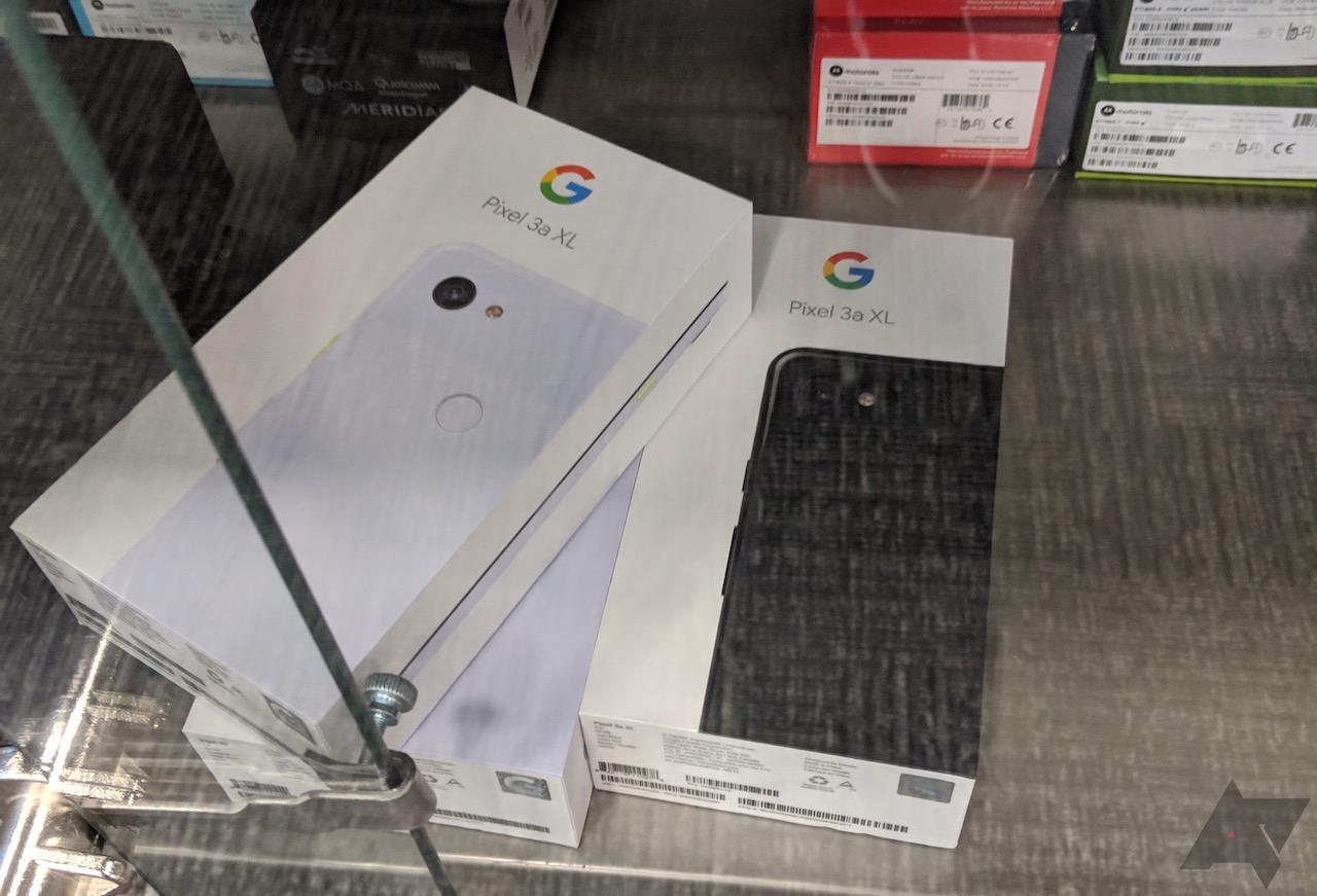 「Pixel 3a XL」、正式発表前に家電量販店で発見される