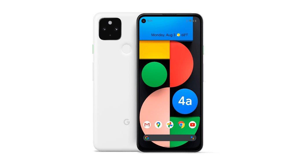 Google、Pixel 4a(5G)の限定色ホワイトを一般発売。1月28日から