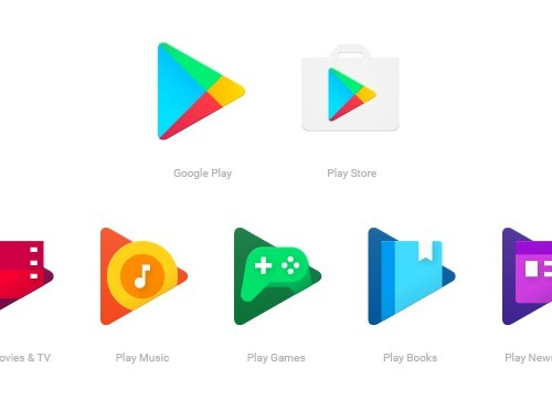 グーグル、Google Playファミリーの新しいアプリアイコンを発表