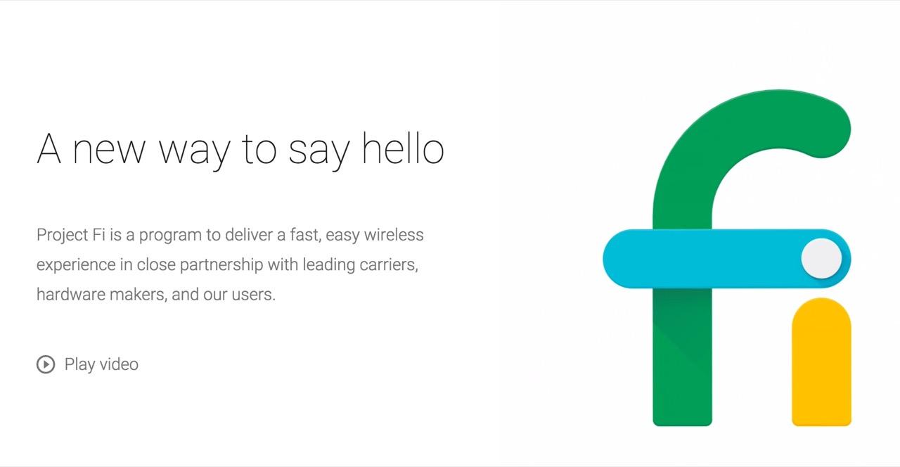 グーグル、スマホ向け通信サービス「Project Fi」を発表――LTEとWi-Fiを一体化