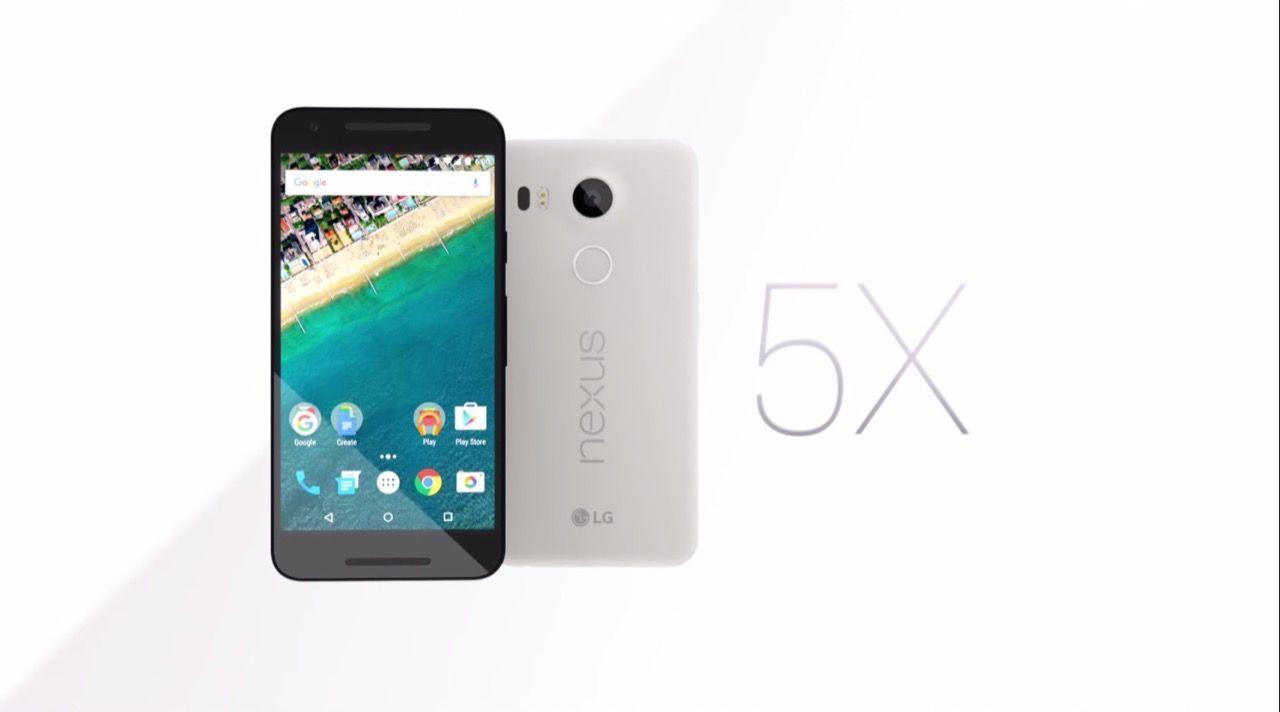 グーグル、「Nexus 5X」を発表 本日発売で価格は59,300円、指紋認証/USB-C対応