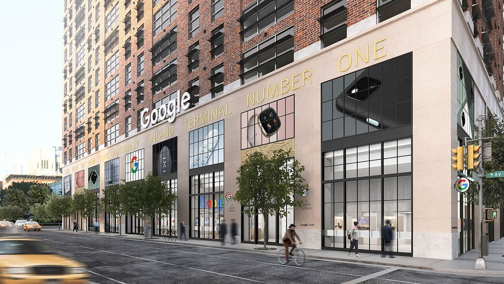 Google初の直営店、Google Storeが今夏オープン。ニューヨークで