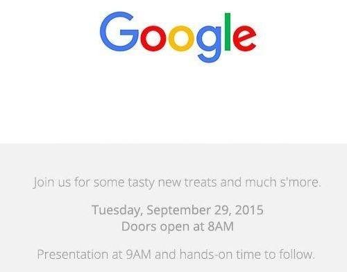 グーグル、新型Nexus 5/6、Chromecastなど発表へ――9月29日にイベント開催