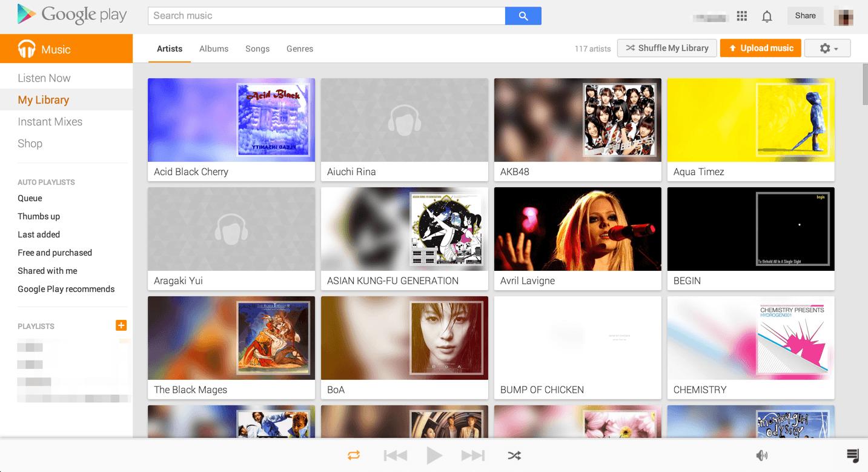Google Play Musicの使い方とiTunesからの移行方法!
